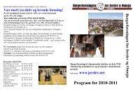 Program for 2010-2011