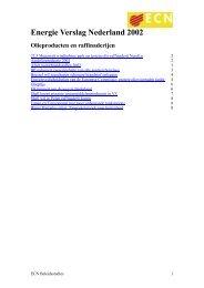 Energie Verslag Nederland 2002 - Energie in Nederland