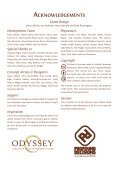 Odyssey rules - Profound Decisions - Page 2