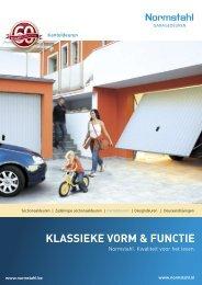 KLASSIEKE VORM & FUNCTIE - Van Der Sangen garagedeuren
