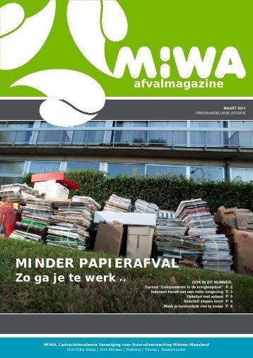 Magazine 01 – maart 2011 - MIWA