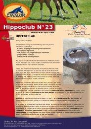 Hippoclub Nieuwsbrief nr. 23: april 2008 - Cavalor