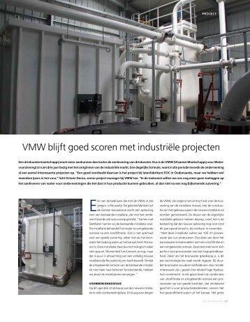 VmW blijft goed scoren met industriële projecten - Aquarama