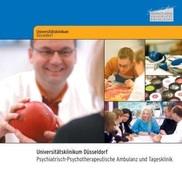 Universitätsklinikum Düsseldorf Psychiatrisch-Psychotherapeutische ...