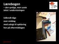 Den usynlige tekst - Læremiddel.dk