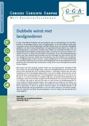 Dubbele winst met landgoederen - Gebiedsgerichte aanpak