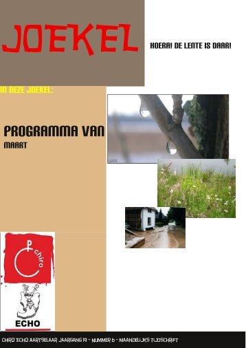 Programma van - Chiro Echo