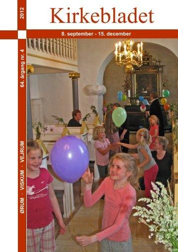 Nr. 4, 2012: 8. september - Ørum - Viskum - Vejrum Sogne