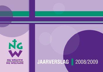 Jaarverslag 2008/2009 - NG Welsyn Noordwes