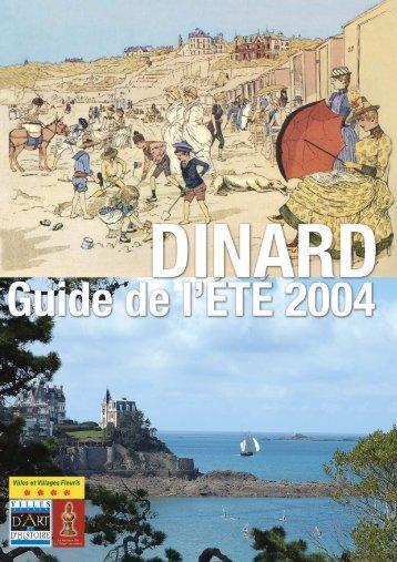 Télécharger le guide de l'été - Dinard.com