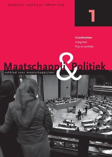 2006-1 - Maatschappij en Politiek Magazine