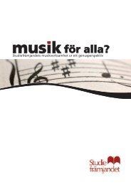 Musik för alla? Studiefrämjandets musikverksamhet ur ett ... - Ladyfest
