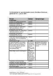 Forhåndsaftale for specialarbejdere - Norddjurs Kommune