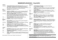 NEDERVETILVECKAN 6 - 14 juli 2013