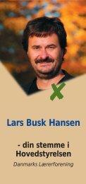 Lars Busk Hansen - Folkeskolen
