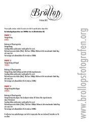 Bröllop - Välkommen till Bröllopsfotografen 070 - 631 69 93