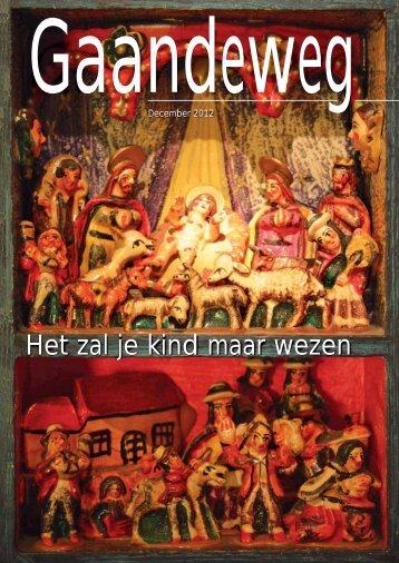 Gaandeweg december 2012 - Protestantse Gemeente Zwolle