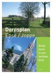 Dorpsplan Epse / Joppe