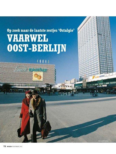Op zoek naar de laatste restjes 'Ostalgie': Vaarwel Oost-Berlijn