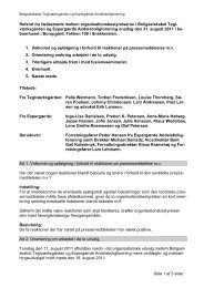 Organisationsbestyrelsesmøde i Boligselskabet Teglværksgården ...