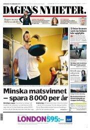 En pdf-version av tidningen finns att ladda - Dagens Nyheter