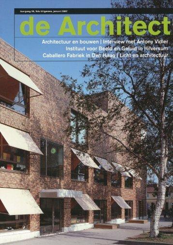 Meer informatie - Wingender Hovenier Architecten