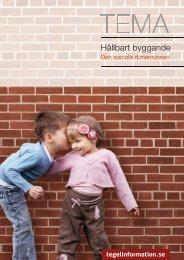 Hållbart byggande · Den sociala dimensionen