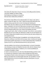 Haushaltsrede 2013 JL/Grüne-Fraktion, Wolfgang Lohmiller