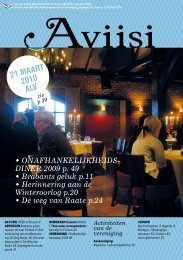 Nummer 1 - de Vereniging Nederland-Finland