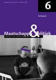 2007-6 - Maatschappij en Politiek Magazine
