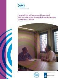 Handreiking bij Samenwerkingsmodel Nazorg volwassen (ex ...