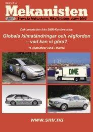 utsläpp - Svenska Mekanisters Riksförening
