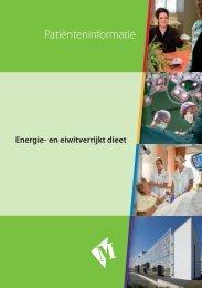 Folder Energie en eiwit dieet - Martini ziekenhuis