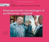 Disproportionele investeringen in psychosociale veiligheid - Crisislab