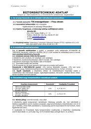 MSDS TIS mosogatószer - Friss citrom - Lorin