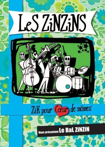 Brochure : Le Bal ZinZin - Les Zinzins