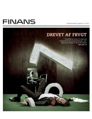 drevet af frygt - Finansforbundet