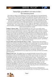 Natuurlijke gezondheid voor mens en dier : het ... - BBK-BIO