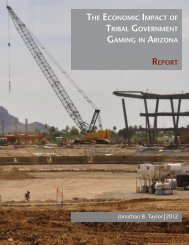 The Economic Impact of Tribal Gaming in Arizona - Arizona Indian ...
