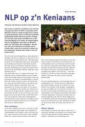 INzicht ZOMER '07 - Nederlandse Vereniging voor NLP