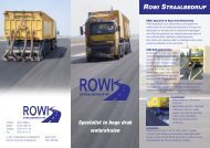 Bekijk de brochure van Rowi Straalbedrijf
