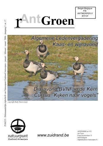 rAntGroen 17 - Natuurpunt Zuidrand Antwerpen