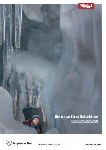Die neue Tirol Kollektion