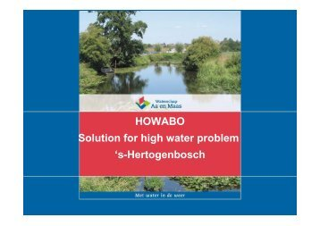 HOWABO Solution for high water problem 's-Hertogenbosch - Amice A