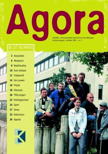 Agora oktober - Katholieke Hogeschool Kempen