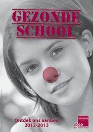 'Gezonde school' voor het schooljaar 2012-2013 - LOGO Antwerpen