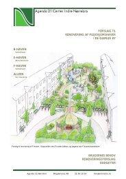 forslag til renovering af plejehjemshaver i de gamles