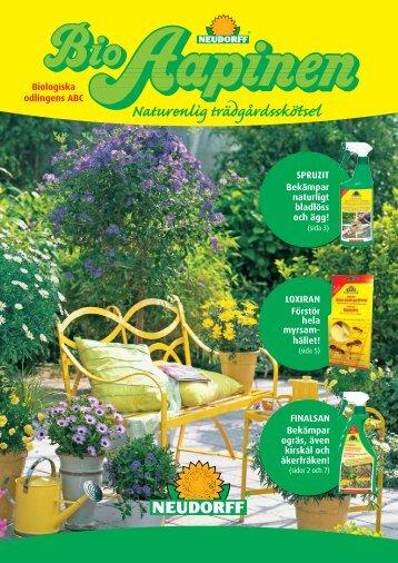 Naturenlig trädgårdsskötsel - Esbau