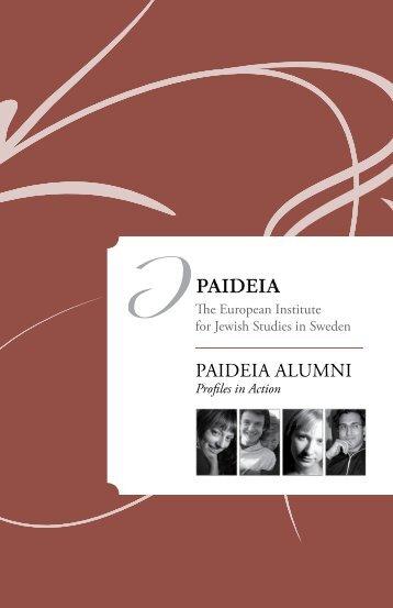 Alumni booklet - Paideia