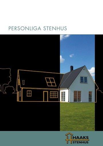 Personliga stenhus - Haaks Stenhus